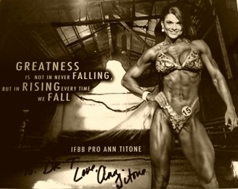 Ann Titone IFBB Pro Figure 4X Olympia 2X Arnold International Managed exclusively by FMG